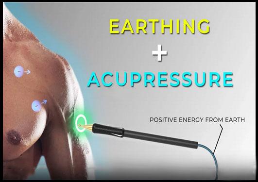 Acupressure Earthing Probe